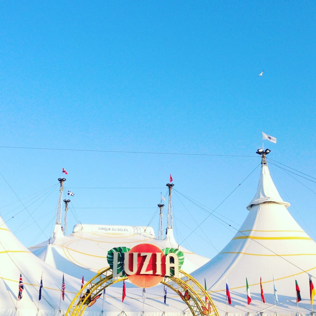 Cirque du Soleil's Luzia at the Toronto Port Lands