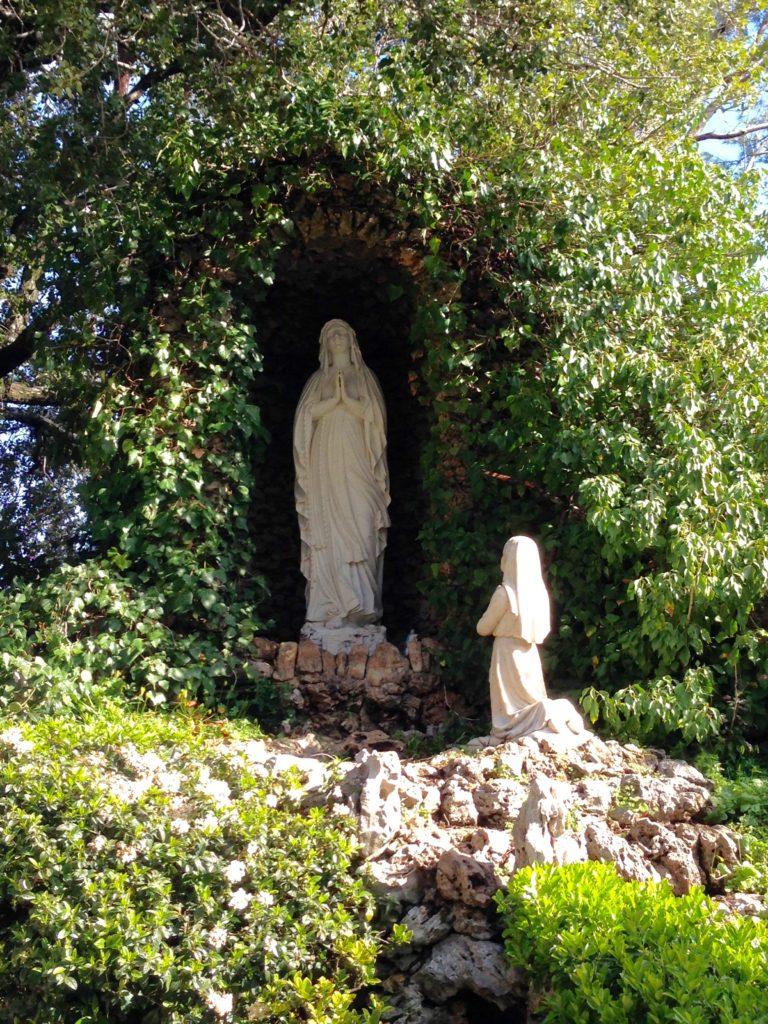 Shrine on the grounds of Deir Mar Chaaya, a monastery
