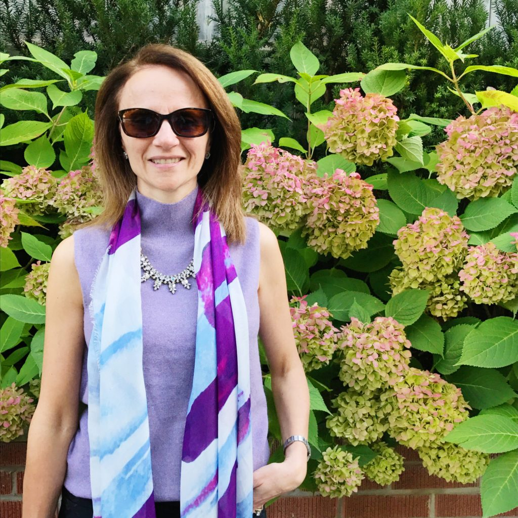 Silk/Wool Scarf by Kala Scarves