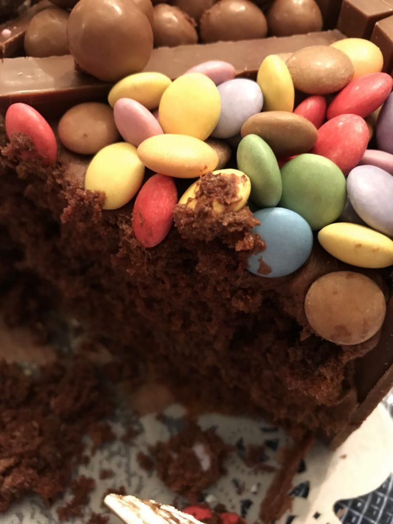 Chocolate Candy Box Cake